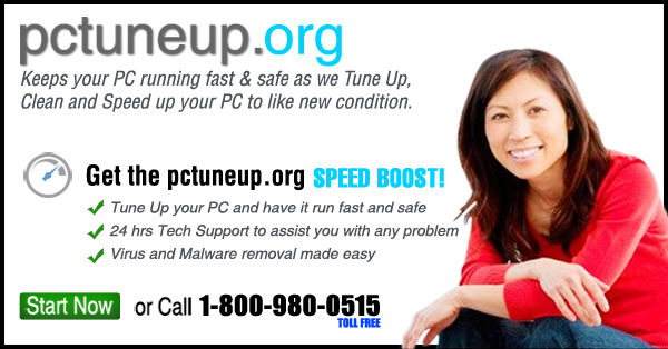 PC Tune Up banner